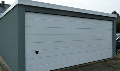 Garagen und Flachdachgaragen
