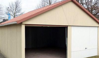GSG Garagen wie Satteldachgaragen